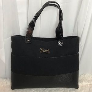 Kate Spade Frosted Felt Tote